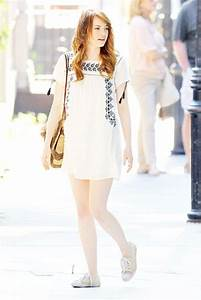 flawless emma stone summer casual style (18) - Fashions ...