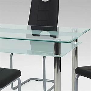 Glas Esstisch Mit Stühlen : esstisch mit st hlen mit glastisch schwarz kunstleder 5 teilig pharao24 m bel24 ~ Bigdaddyawards.com Haus und Dekorationen