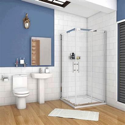 Porte Shower Entry Corner 6mm Douche Glass