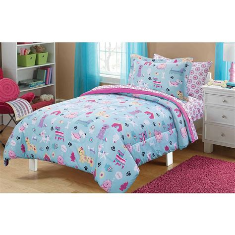 awesome themed bedding great for 5 kids puppies dogs comforter adorable