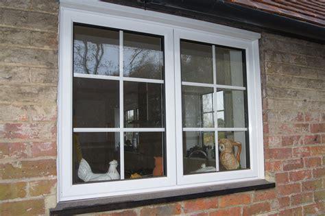white aluminium window  external georgian bars windows exterior house window design