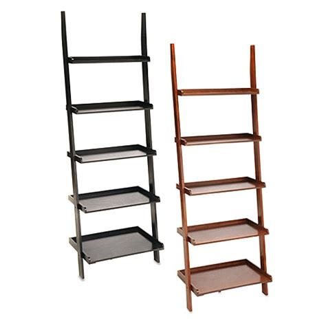 bed bath and beyond bookcase buy espresso ladder bookcase from bed bath beyond