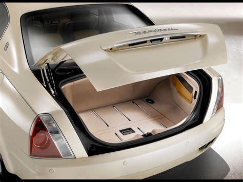 2008 Maserati Quattroporte Collezione Cento Trunk