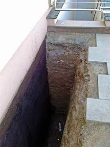 Kellerwand Außen Abdichten : treppenstufen freigraben und wand darunter abdichten ~ Lizthompson.info Haus und Dekorationen