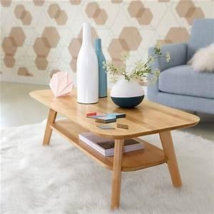 Table De Salon La Redoute : table basse 2 plateaux bouleau massif jimi la redoute interieurs ventes pas ~ Voncanada.com Idées de Décoration