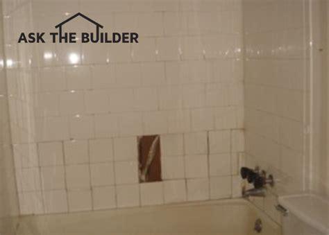 ceramic tile shower ask the builderask the builder