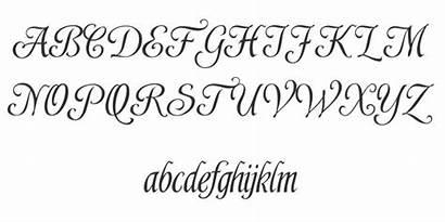 Calligraphy Fonts Easy Alphabet Font Script Pretty