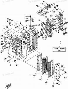 Yamaha Outboard Parts By Hp 75hp Oem Parts Diagram For