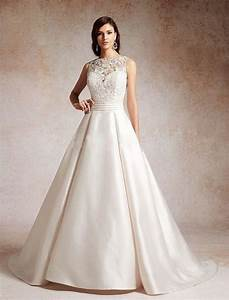 Fabulous stain a line wedding gown collection for A line wedding dress