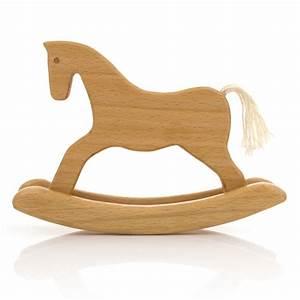 Leo & Bella Milton Asbhy Gift Boxed Wooden Toy Rocking Horse