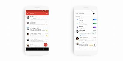 Gmail Material Google Android App Mobile Theme