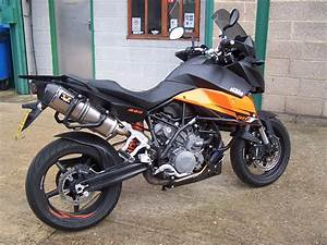 Ktm Smt990 2010 With Wings Exhausts Booked In For Ecu Re