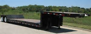 Flat Deck Gooseneck Trailers by Xl Double Drop Commercial Xl Specialized Trailers Xl