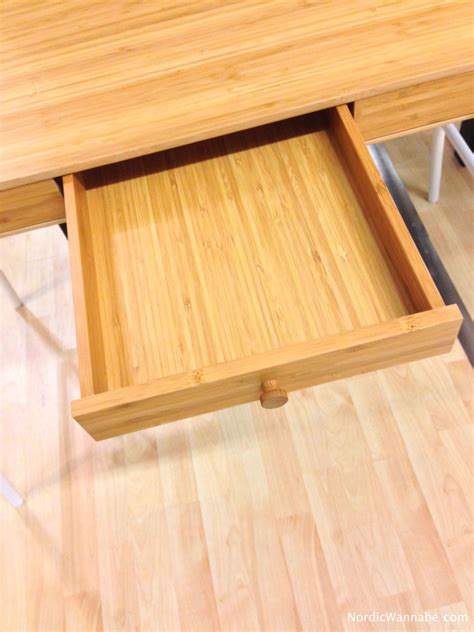 Ikea Schreibtisch Bambus by Lill 197 Sen Ein Neuer Ikea Schreibtisch Perfekt F 252 R