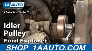 How To Replace Pulley 02-09 Ford Explorer