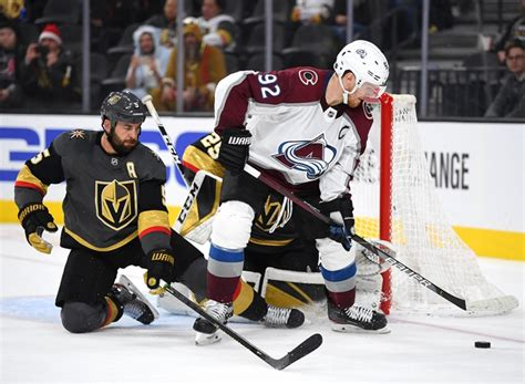 Colorado Avalanche vs. Vegas Golden Knights - 8/8/20 NHL ...