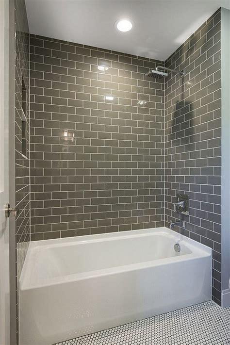 fresh subway tiles application   bathroom