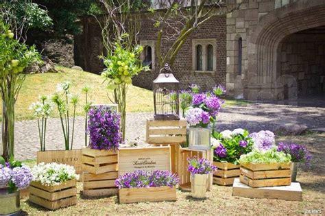 decoracion jardin vintage