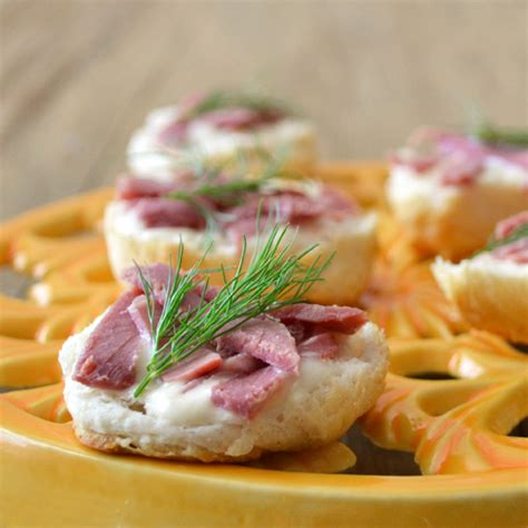 beef canapes recipes healthy corned beef canapes around my family table