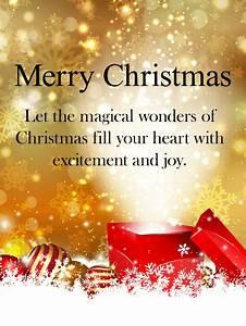 Magical, Christmas, Card