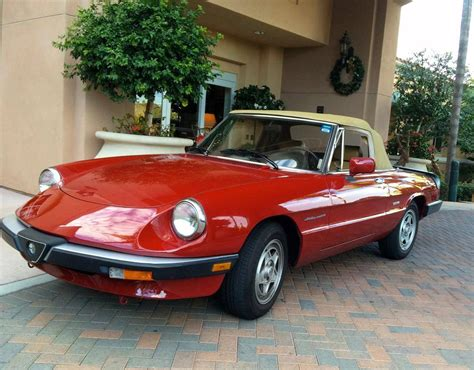 1990 Alfa Romeo Spider by 1990 Alfa Romeo Spider For Sale 1917478 Hemmings Motor News