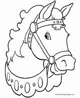 Horse Coloring Pages Sheets sketch template