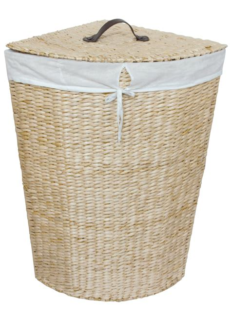panier a linge d angle cottage naturel homebain