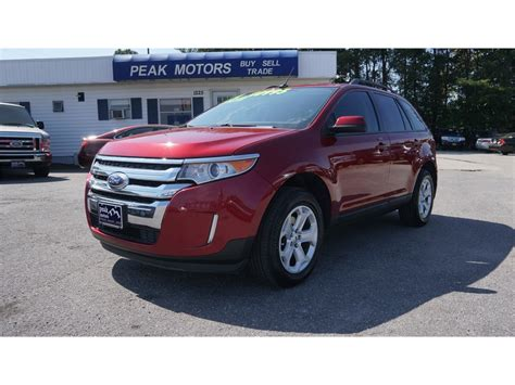 ford edge sel awd  sale  hickory