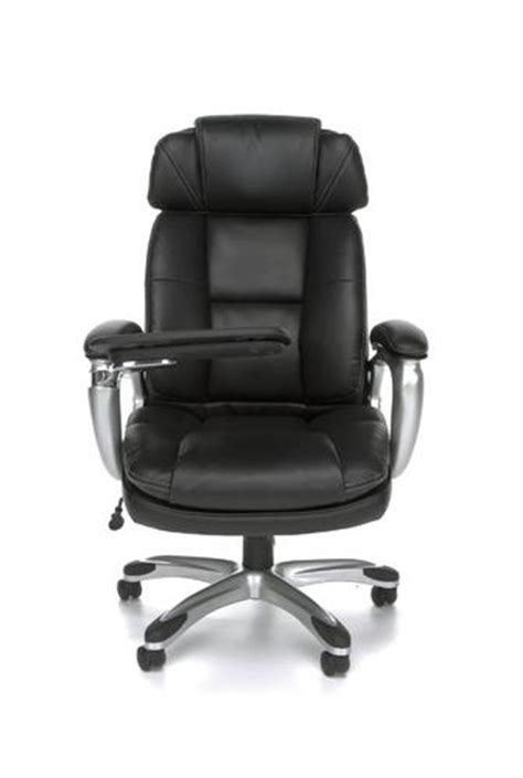 oro high back executive office chair with tablet arm by