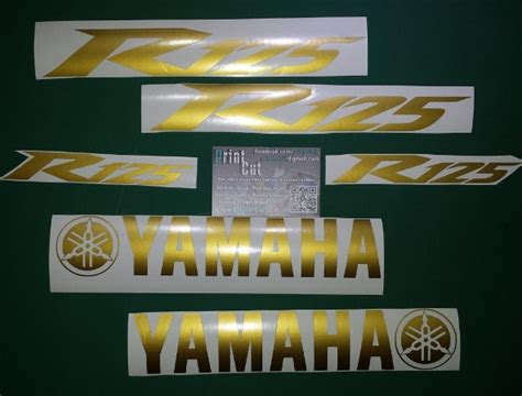 Yzf R125 Decal Sticker Set Type2
