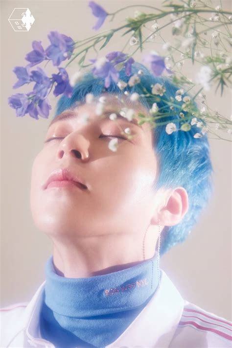 exo cbx blooming day teaser individual teaser photo for exo cbx 2nd mini