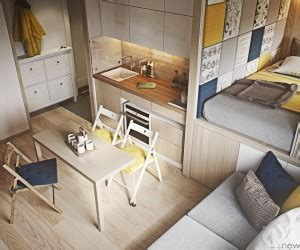Interior Decoration Ideas For Small Homes Designing For Small Spaces 3 Beautiful Micro Lofts