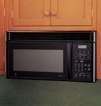 ge jvmbj  cu ft   range microwave oven   cooking watts night light black