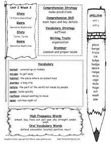 Wonders 2nd Grade Worksheets