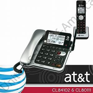 Corded Cordless Phone System Answering System Call Id