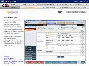 Hyundai Service Training  Global Diagnostic System Guide