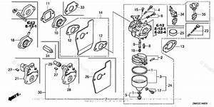 Honda Lawn Mower Engine Carburetor Diagram