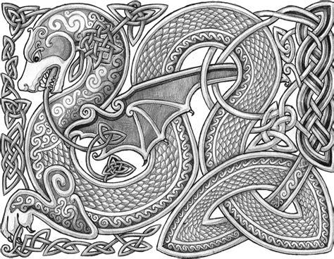 Celtic Dragon by Lariethene.deviantart.com on @DeviantArt ...