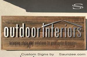 rustic company With signs and lettering business