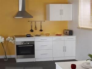 Plaque Décorative Pour Cuisine : meuble de cuisine pour four et plaque encastrable ~ Premium-room.com Idées de Décoration