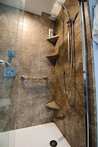 great triangle corner shower 216 best images about Re-Bath Remodels on Pinterest | Corner shelves, Dual shower heads and ...
