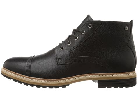 timberland west waterproof chukka in black for