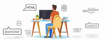 Website Development Designing Deliver Company Build Pulsating
