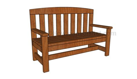 How To Build A Comfortable 2×4 Bench And Side Table