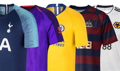 Premier League kits 2018/19: Every away shirt ranked ...