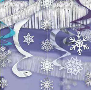 amazoncom christmas ultimate ceiling decorating kit winter wonderland home kitchen