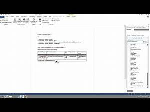 easy and fast document generation based on ms crm data With data driven document generation
