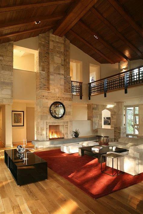 Canapé Loft But - quel type d intérieur pour votre chalet en bois habitable