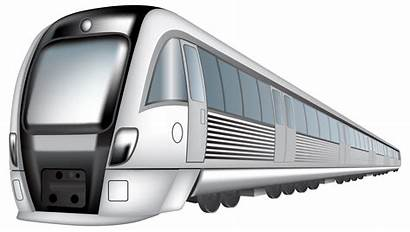 Train Transparent Clipart Fast Bullet Background Railroad