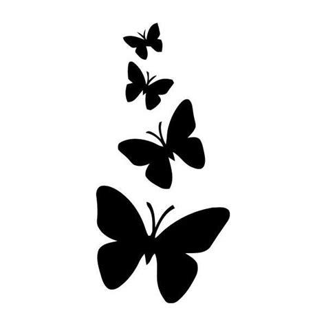 stencil de mariposas silueta de mariposas dibujos de